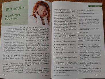 Yoga Vision Burnout