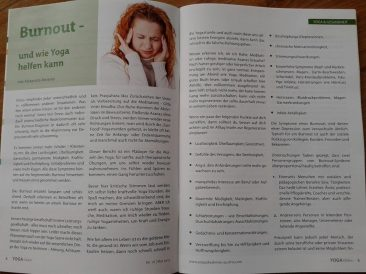 Yoga Vision Burnout