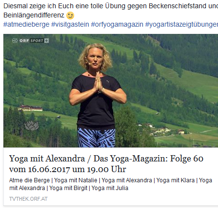 Yogamagazin Mai 2017