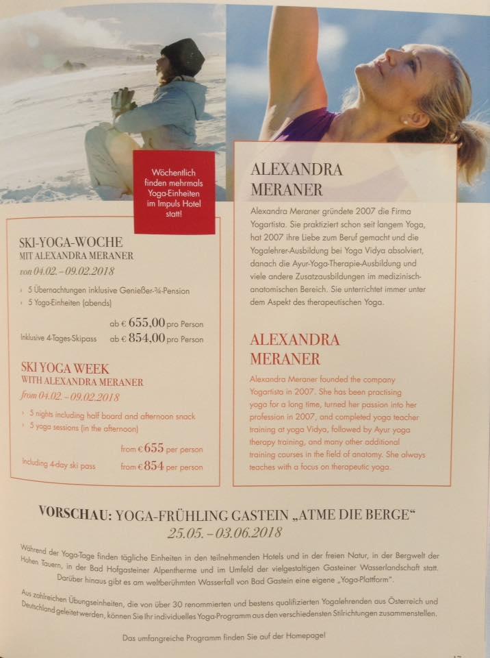 Ski und yoga 2018